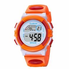 Nơi bán Đồng hồ cho bé DH05 màu cam đỏ giá tốt KhaHanShop