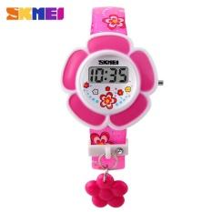 Giá bán Đồng hồ điện tử - đồng hồ thời trang bé gái giá rẻ Skmei 1144 (Hồng)