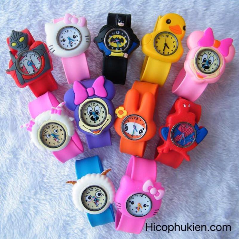Nơi bán Đồng hồ đập tay trẻ em hình thú bé trai