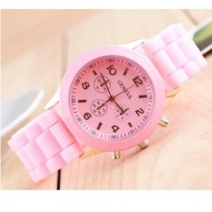đồng hồ dây nhựa dẻo cho bé gái đáng yêu