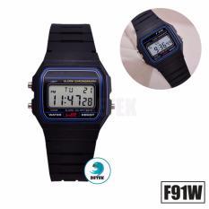 Đồng hồ điện tử F91W (Đen)