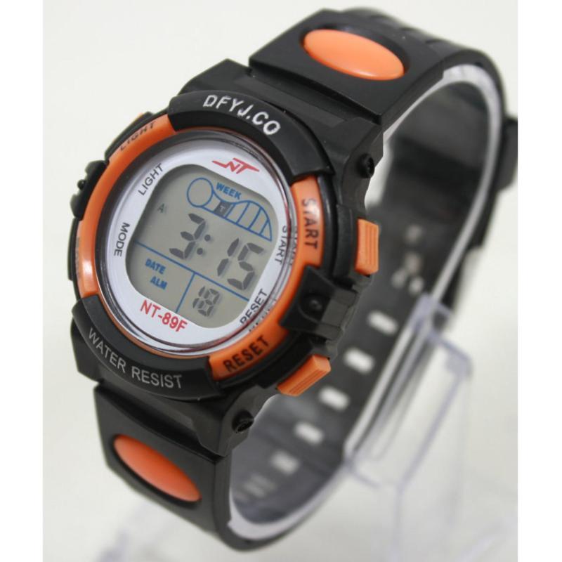 Nơi bán Đồng hồ điện tử trẻ em IDMUASAM 2442 (Cam)