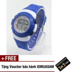 Nơi bán Đồng hồ điện tử trẻ em IDMUASAM 2172 (Xanh dương) + Tặng kèm voucher bảo hành IDMUASAM