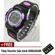 Nơi bán Đồng hồ điện tử trẻ em IDMUASAM 2441 (Tím) + Tặng kèm voucher bảo hành IDMUASAM