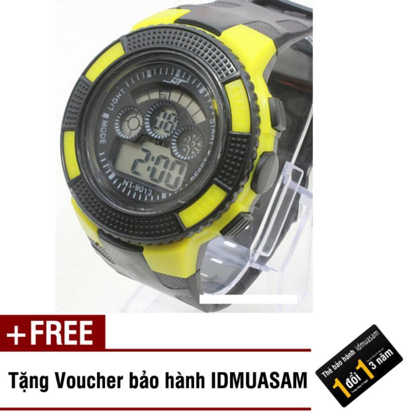 Nơi bán Đồng hồ điện tử trẻ em IDMUASAM 7934 (Vàng) + Tặng kèm voucher bảo hành IDMUASAM