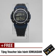 Nơi bán Đồng hồ điện tử trẻ em IDMUASAM S1431 (Xanh đen) + Tặng kèm voucher bảo hành IDMUASAM