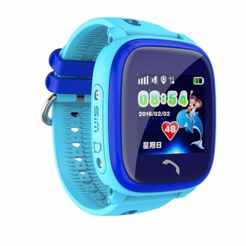 Nơi bán Đồng hồ Định vị quản lý giám sát trẻ em GPS-LBS DF25G chống nước tuyệt đối IP67