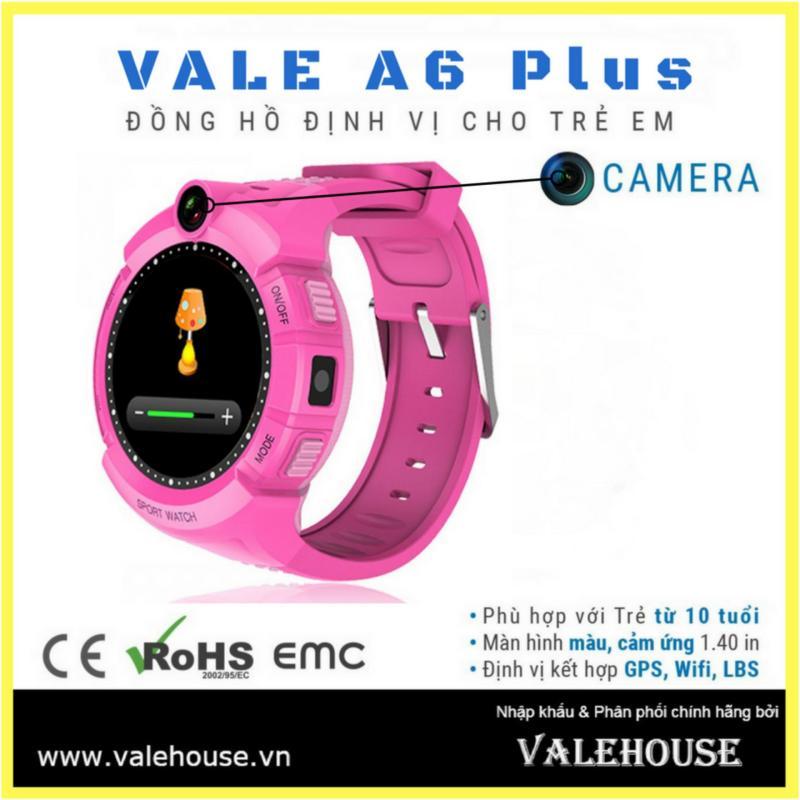 Nơi bán Đồng hồ định vị trẻ em VALE A6 Plus - 0020 Hồng Phấn