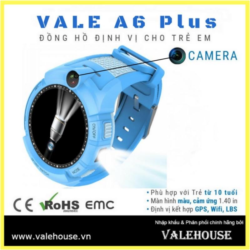 Nơi bán Đồng hồ định vị trẻ em VALE A6 Plus - 1479 Xanh Dương