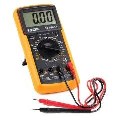 Đồng hồ đo vạn năng Excel DT9205A chuyên dụng sửa chữa điện tử GamoShop (Đen phối vàng)