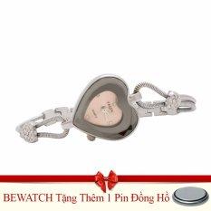 Giá Bán Đồng Hồ Lắc Tay Nữ Day Kim Loại Bewatchtặng Kem 01 Vien Pin Nhãn Hiệu Oem