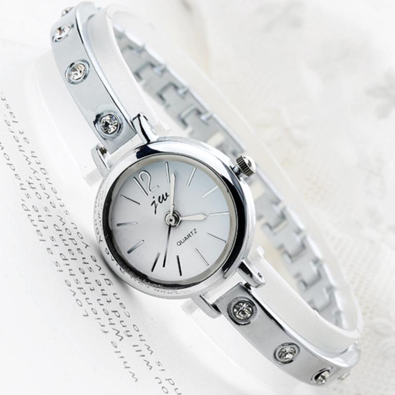 Đồng hồ lắc tay nữ Cổ điển dây kim loại đính hột xoàn sáng lấp lánh Công nghệ Nhật Bản  Giá sỉ Chất lượng Cao cấp Thời trang Phong cách Hàn QuốcWH-JW3438