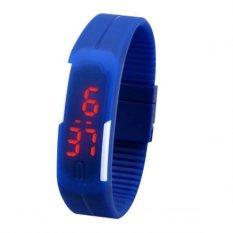 Giá Bán Đồng Hồ Led Day Silicon Digital Watch Xanh Biển Digital Watch Nguyên
