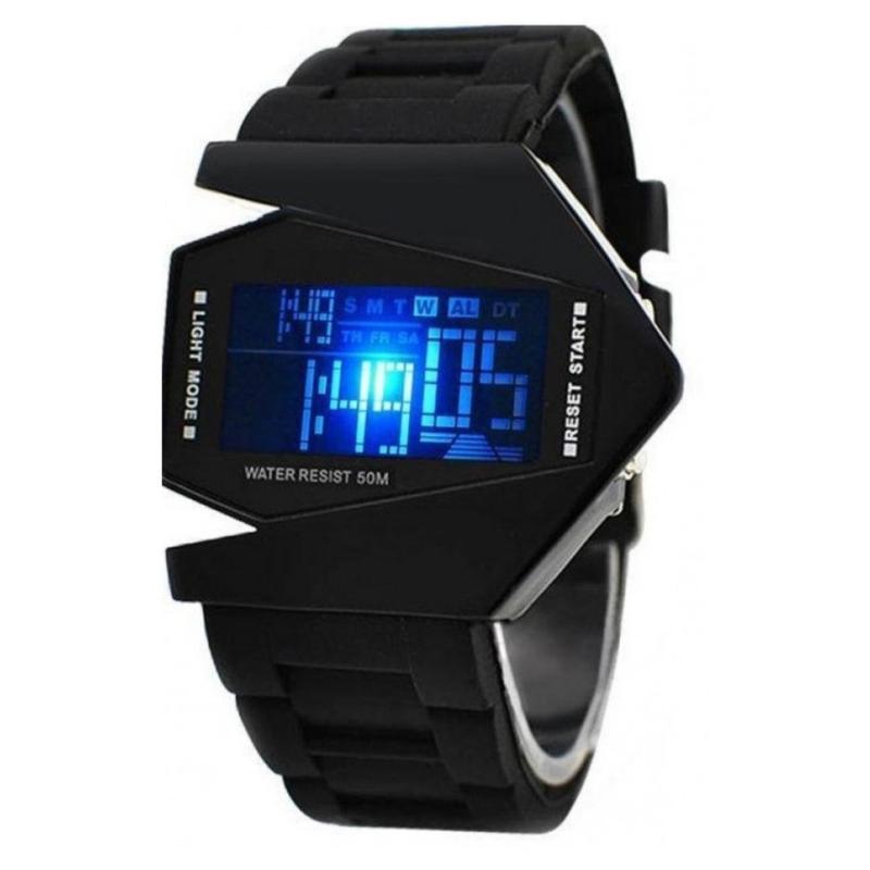 Đồng hồ LED SKMEI dây nhựa dành cho trẻ em 0817b (Đen) bán chạy
