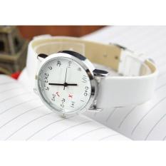 Đồng hồ mặt toán học xinh xắn