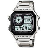 Giá Bán Rẻ Nhất Đồng Hồ Nam Casio World Time Ae 1200Whd 1A
