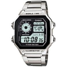 Đồng hồ nam Casio World Time AE-1200WHD-1A