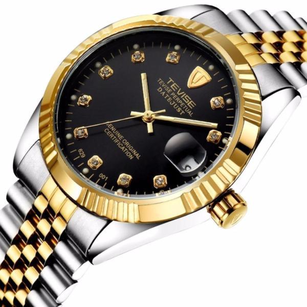 Đồng hồ nam cơ Tevise 629 máy Automatic dây thép đặc bán chạy