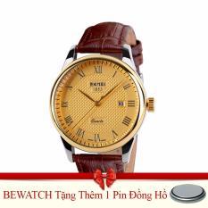 Chiết Khấu Đồng Hồ Nam Day Da 0511 0715Na Nau Tặng Kem 01 Vien Pin Oem Hà Nội