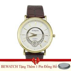 Mua Đồng Hồ Nam Day Da Be Watch Tặng Kem 01 Vien Pin Trực Tuyến