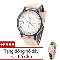 Cửa Hàng Đồng Hồ Nam Day Da Bewatch Đen Tặng Kem 1 Đồng Hồ Day Da Thổ Cẩm Bewatch Hà Nội