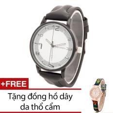 Mua Đồng Hồ Nam Day Da Bewatch Xam Tặng Kem 1 Đồng Hồ Day Da Thổ Cẩm Trực Tuyến Rẻ