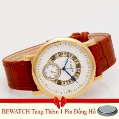 Mua Đồng Hồ Nam Day Da Bewatchtặng Kem 01 Vien Pin Hà Nội