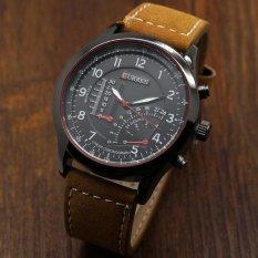 Nơi bán Đồng hồ nam dây da cao cấp Curren 3519 (Đen)