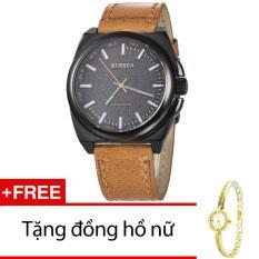 Chiết Khấu Đồng Hồ Nam Day Da Cr21104 15Na Nau Tặng 1 Đồng Hồ Nữ Oem Trong Hà Nội