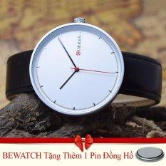 Mua Đồng Hồ Nam Day Da Curren 8223 Đen Tặng Kem 01 Vien Pin Mới