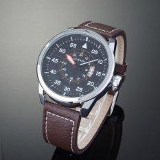 Nơi bán Đồng hồ nam dây da Curren CR821DD (Mặt đen)