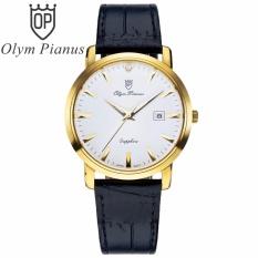 Đồng Hồ Nam Day Da Mặt Kinh Sapphire Chống Xước Olym Pianus Op130 06Mk Gl T Trong Hà Nội