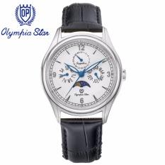 Chiết Khấu Đồng Hồ Nam Day Da Mặt Kinh Sapphire Chống Xước Olympia Star Opa98022 00Ms Gl T Olympia Star Trong Hà Nội
