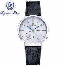 Mua Đồng Hồ Nam Day Da Mặt Kinh Sapphire Chống Xước Olympia Star Opa58012 07Ms Gl T Trực Tuyến Rẻ