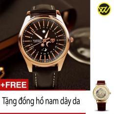 Giá Bán Đồng Hồ Nam Day Da S109A Tặng 1 Đồng Hồ Nam Day Da