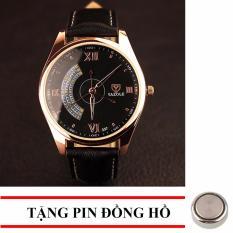 Giá Bán Đồng Hồ Nam Day Da S909A Tặng1 Pin Đồng Hồ Trong Hà Nội