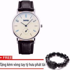 Giá Bán Đồng Hồ Nam Day Da Sml Skmei 9120 Tặng Vong Tay Tỳ Hưu Phat Tai Rẻ Nhất