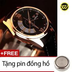 Bán Đồng Hồ Nam Day Da Ss499A Tặng Kem 1 Pin Đồng Hồ Lsvtr Có Thương Hiệu