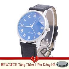 Cửa Hàng Đồng Hồ Nam Day Da Tặng Kem 01 Vien Pin Bewatch Trong Hà Nội