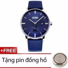 Ôn Tập Đồng Hồ Nam Day Da Xtw Skmei Skm0409B Bewatch