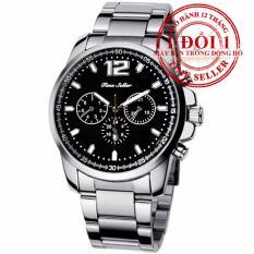 Đồng hồ nam dây hợp kim Quartz Analog Time Seller 8568