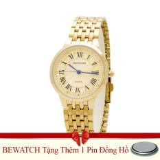 Bán Đồng Hồ Nam Day Kim Loại Be Watch Vang Tặng Kem 01 Vien Pin Bewatch Trực Tuyến