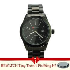 Giá Bán Rẻ Nhất Đồng Hồ Nam Day Kim Loại Curren Be Watch Tặng Kem 01 Vien Pin