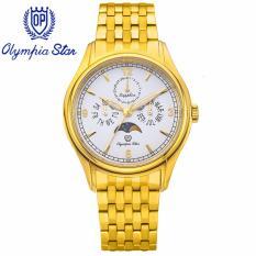 Mua Đồng Hồ Nam Day Kim Loại Mặt Kinh Sapphire Chống Xước Olympia Star Opa98022 00Mk T Olympia Star