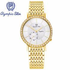 Chiết Khấu Đồng Hồ Nam Day Kim Loại Mặt Kinh Sapphire Chống Xước Olympia Star Opa58012 07Dmk T Olympia Star