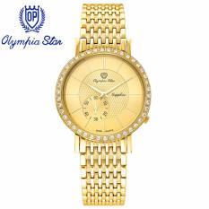 Mua Đồng Hồ Nam Day Kim Loại Mặt Kinh Sapphire Chống Xước Olympia Star Opa58012 07Dmk V Olympia Star Rẻ