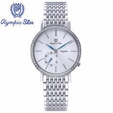 Đồng Hồ Nam Day Kim Loại Mặt Kinh Sapphire Chống Xước Olympia Star Opa58012 07Dms T Olympia Star Chiết Khấu