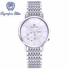 Bán Mua Đồng Hồ Nam Day Kim Loại Mặt Kinh Sapphire Chống Xước Olympia Star Opa58012 07Ms T
