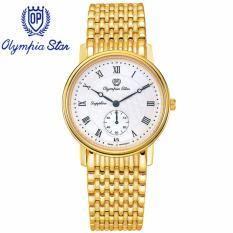 Mua Đồng Hồ Nam Day Kim Loại Mặt Kinh Sapphire Chống Xước Olympia Star Opa58050Mk T Trực Tuyến Vietnam