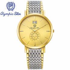 Đồng Hồ Nam Day Kim Loại Mặt Kinh Sapphire Chống Xước Olympia Star Opa58082 04Msk V Olympia Star Chiết Khấu